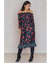 Endless Rose - Open Shoulder Dress - Lyst