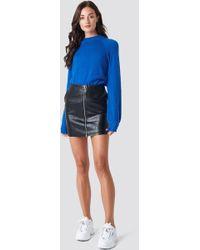 Rut&Circle - Pu Zip Pocket Skirt - Lyst