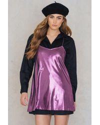 Motel Rocks - Meadow Dress Midnight Mauve - Lyst