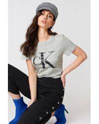 Calvin Klein | Shrunken Tee | Lyst