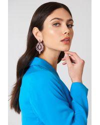 NA-KD - Jewel Flower Stud Earrings - Lyst