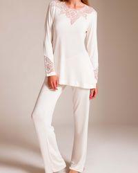 Cotton Club - Dietrich Stravagante Pajama - Lyst
