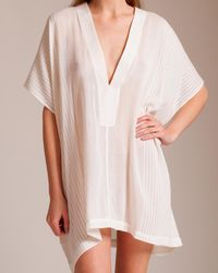 Su Paris - Lamu Deep V Short Kaftan - Lyst