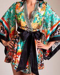 Camilla - Galaxy Girl Kimono Wrap Dress - Lyst