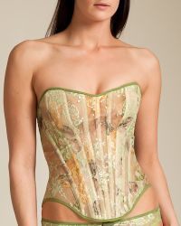 Cadolle - Bagatelle Lace Kelly Bustier - Lyst