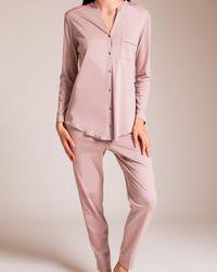 Hanro - Pure Essence Pajama - Lyst