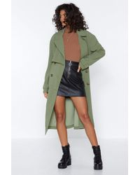 Nasty Gal - Got It Covered Longline Trench - Lyst