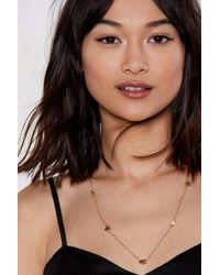 Nasty Gal - She's A Star Necklace - Lyst