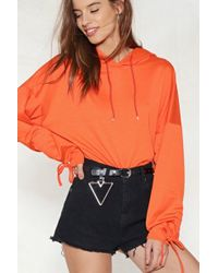 Nasty Gal - Get The Point Triangle Belt - Lyst