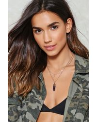 Nasty Gal - Over The Moon Layered Necklace - Lyst