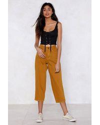 Nasty Gal - My Wide Or Die Culotte Jeans - Lyst