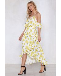 Nasty Gal - Grow With The Flow Floral Dress - Lyst