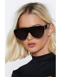 Nasty Gal - Drop-top Aviator Shades - Lyst