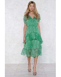 Nasty Gal - Spring Affair Floral Dress - Lyst