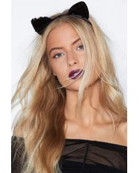 Nasty Gal - I'm A Mouse Duh Cat Headband - Lyst