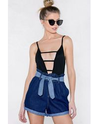 Nasty Gal - Until Ladder Bodysuit - Lyst