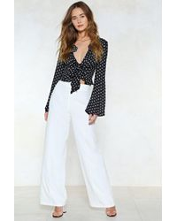 Nasty Gal   Ain't No River Wide Enough Pants   Lyst