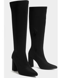 d6b423169b1dac Hot Nasty Gal - Knee High And Bye Heeled Boot - Lyst