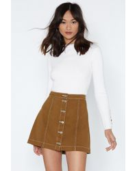 Nasty Gal - Give Us The Details Sweater - Lyst
