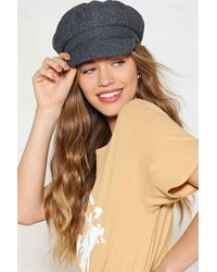 Nasty Gal - Tweed Baker Boy Hat Tweed Baker Boy Hat - Lyst