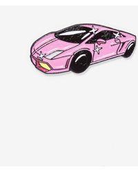 Nasty Gal - Laser Kitten Pink Lambo Pin - Lyst