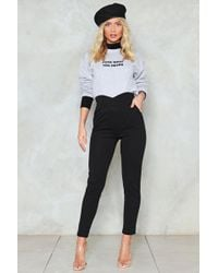 Nasty Gal - Tailored Skinny Trousers Tailored Skinny Trousers - Lyst