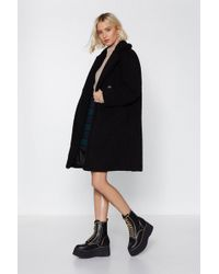 "Nasty Gal - ""i Won't Fur-get You Faux Fur Coat"" - Lyst"