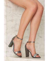 Glamorous - Standby Vegan Leather Heel - Lyst