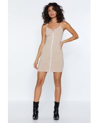 7fa1c33a991a5 Nasty Gal So Dot Right Now Mesh Dress in White - Lyst