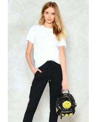 Nasty Gal - Want Well What Do You Wink Sequin Backpack - Lyst