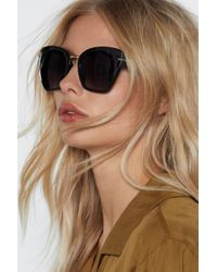 Nasty Gal - Cat-itude Is Everything Cat-eye Shades - Lyst