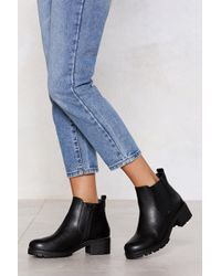 Nasty Gal - Follow In My Footsteps Chelsea Boot - Lyst