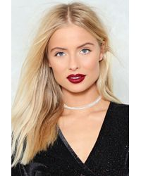Nasty Gal | Beaded Layer Choker | Lyst