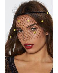 Nasty Gal - Spellbound Veiled Net Headband - Lyst