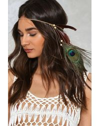 Nasty Gal | Feather Hair Accessory Feather Hair Accessory | Lyst