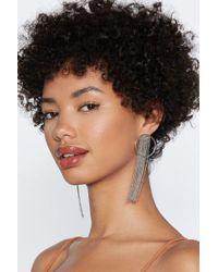 Nasty Gal - Prima Donna Hoop Earrings - Lyst