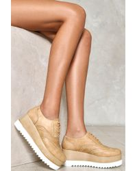 Nasty Gal | Touch The Sky Platform Oxford | Lyst
