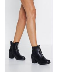 Nasty Gal - Get Up And O-ring Boot - Lyst