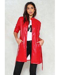 Nasty Gal - Vinyl Raincoat Vinyl Raincoat - Lyst