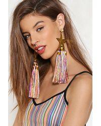 Nasty Gal - Main Stage Tassel Earrings - Lyst