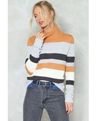 Nasty Gal - Straight From Us Turtleneck Jumper - Lyst