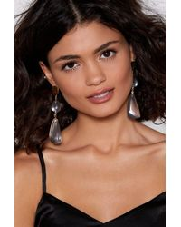 Nasty Gal - Let's Clear This Up Drop Earrings - Lyst