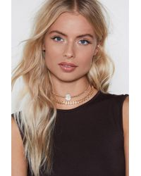 Nasty Gal - Two Times The Charm Choker - Lyst