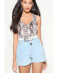 Nasty Gal | Just A Lil High-waisted Shorts | Lyst