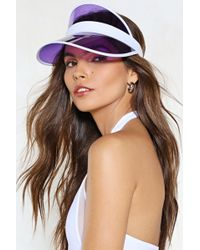 Nasty Gal - Field Day Visor - Lyst