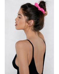 Nasty Gal - It'll Be All Bright Sequin Scrunchie Set - Lyst