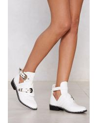 Nasty Gal - Take The Lead Bootie - Lyst