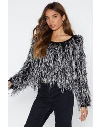 Nasty Gal - Gala Affair Shaggy Jumper - Lyst