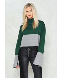 Nasty Gal | Have Knit Your Way Turtleneck Sweater | Lyst