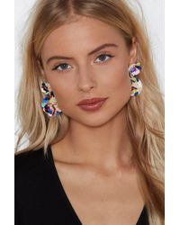 Nasty Gal - Candy Dreaming Sequin Earrings - Lyst